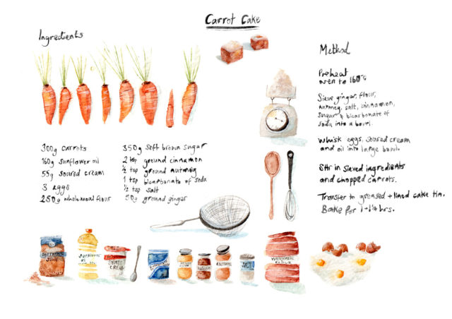 http://www.lucyeldridge.com/Illustrated-recipes
